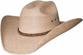 75803a466ce Montecarlo   Bullhide Hats - JASON - 10X Palm Leaf Straw Western Cowboy Hat  (7