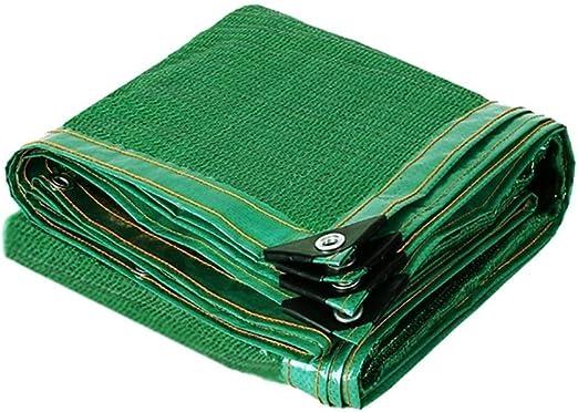 Malla de Sombreo Verde, 80% de Tela de Sombra Cinta con Borde con ...