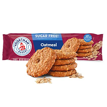 Voortman Bakery, Sugar Free Oatmeal Cookies, Delicious Sugar Free Cookie,