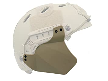 Tactical Protection Auditive Ibh Casque Fast Coque Airsoft Tan