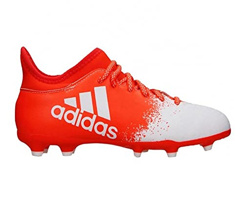 cd5a0ec2697 New Adidas Women s X 16.3 FG Soccer Cleat Solar Red White 5  Amazon ...