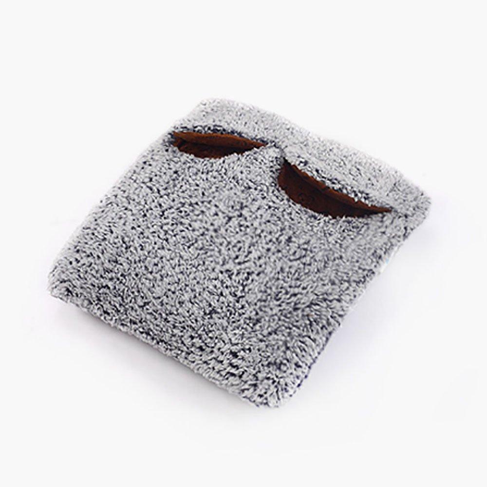 LJHA Einstellbare Temperatur Plug-in Elektro Warm Fuß Schatz Heizkissen Waschbar Warme Füße Heizung Schuhe Büro Fußwärmer ( Farbe : A ) jiadianqunuanqi