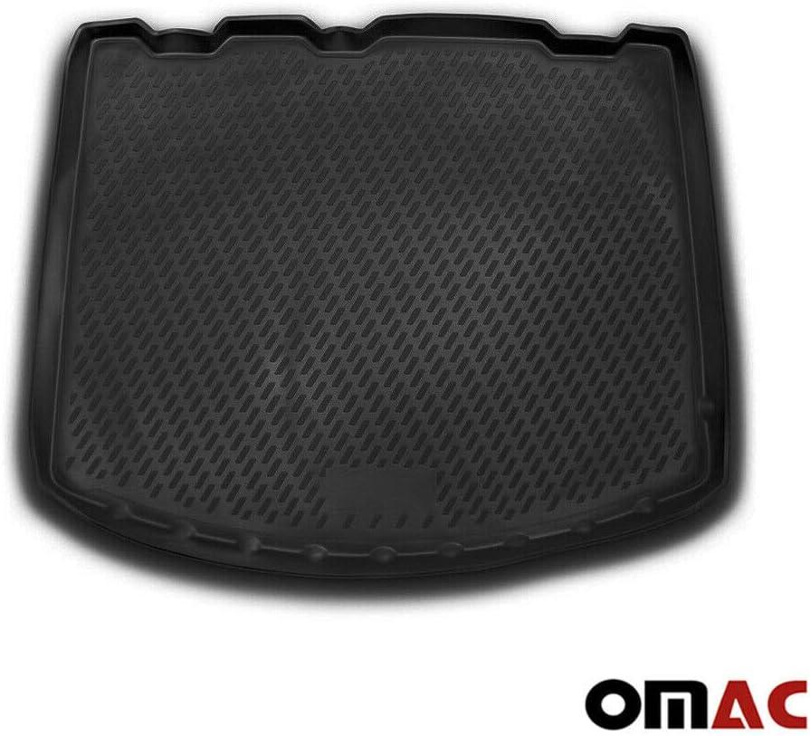 OMAC GmbH Kofferraumwanne Antirutschmatte Gummi Allwetter schwarz fahrzeugspezifisch f/ür Kuga 2 ab 2013
