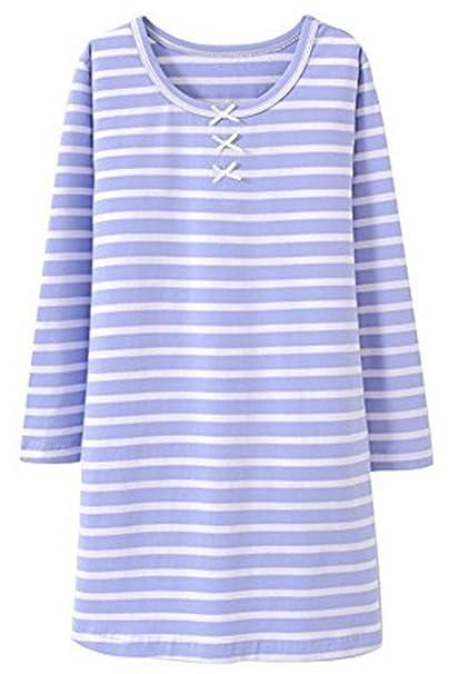 Amazon.com: HOYMN - Camisón de dormir para niña de 2 a 11 ...