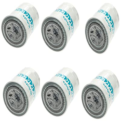 6 Pack Genuine OEM Kubota Oil Filters HH160-32093: Automotive
