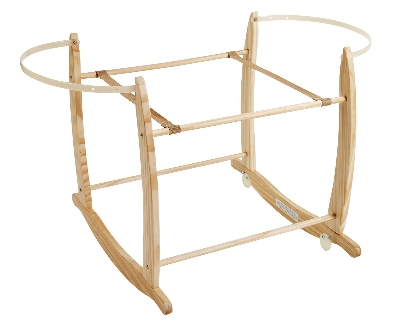 Clair de Lune Deluxe Rocking Stand (Natural) BabyCentre CL4281N