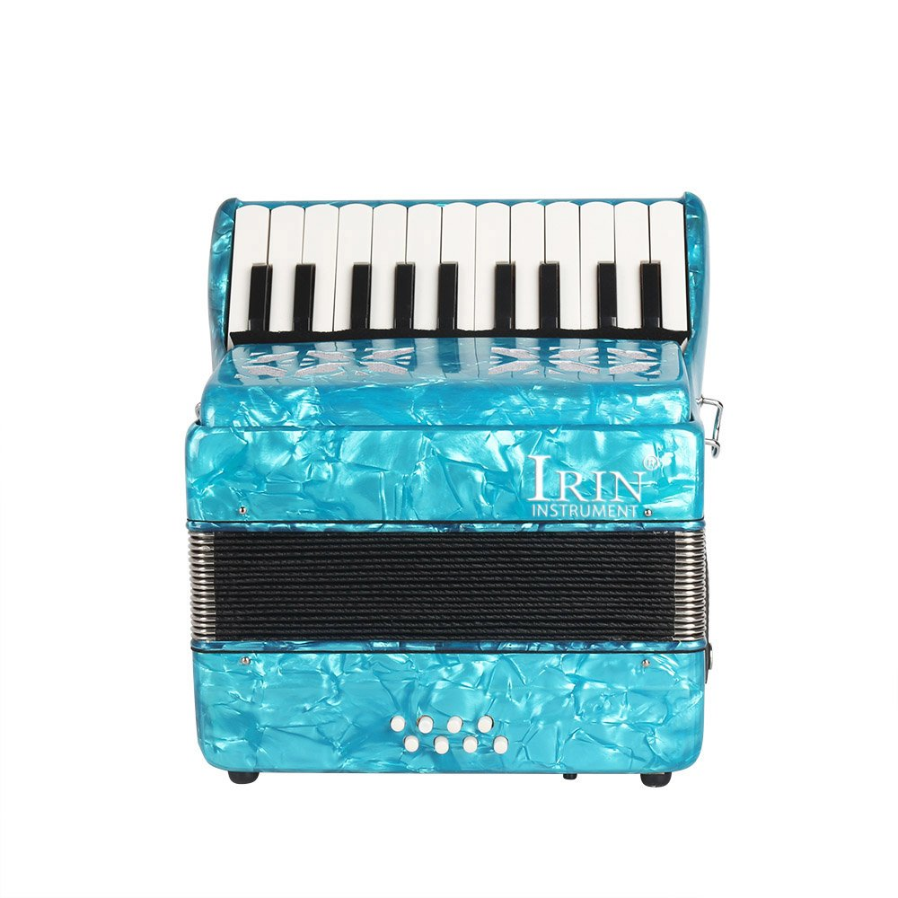 ammoon 22-Key 8 Bass Piano Accordion with Straps Gloves Cleaning Cloth Educational Music Instrument for Students Beginners Childern by ammoon (Image #8)