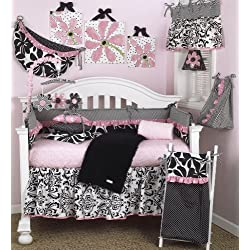 Cotton Tale Designs Girly 8 Piece Girl's Crib Bedding Set