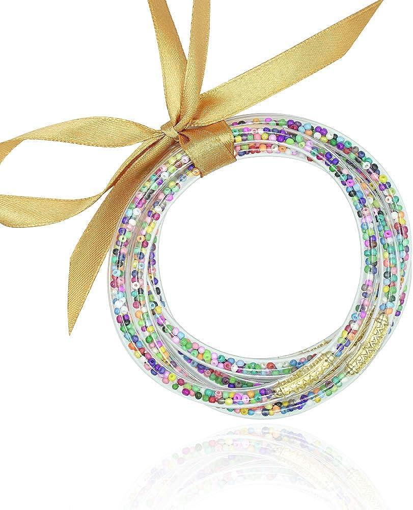 Glitter Jelly Bangle...