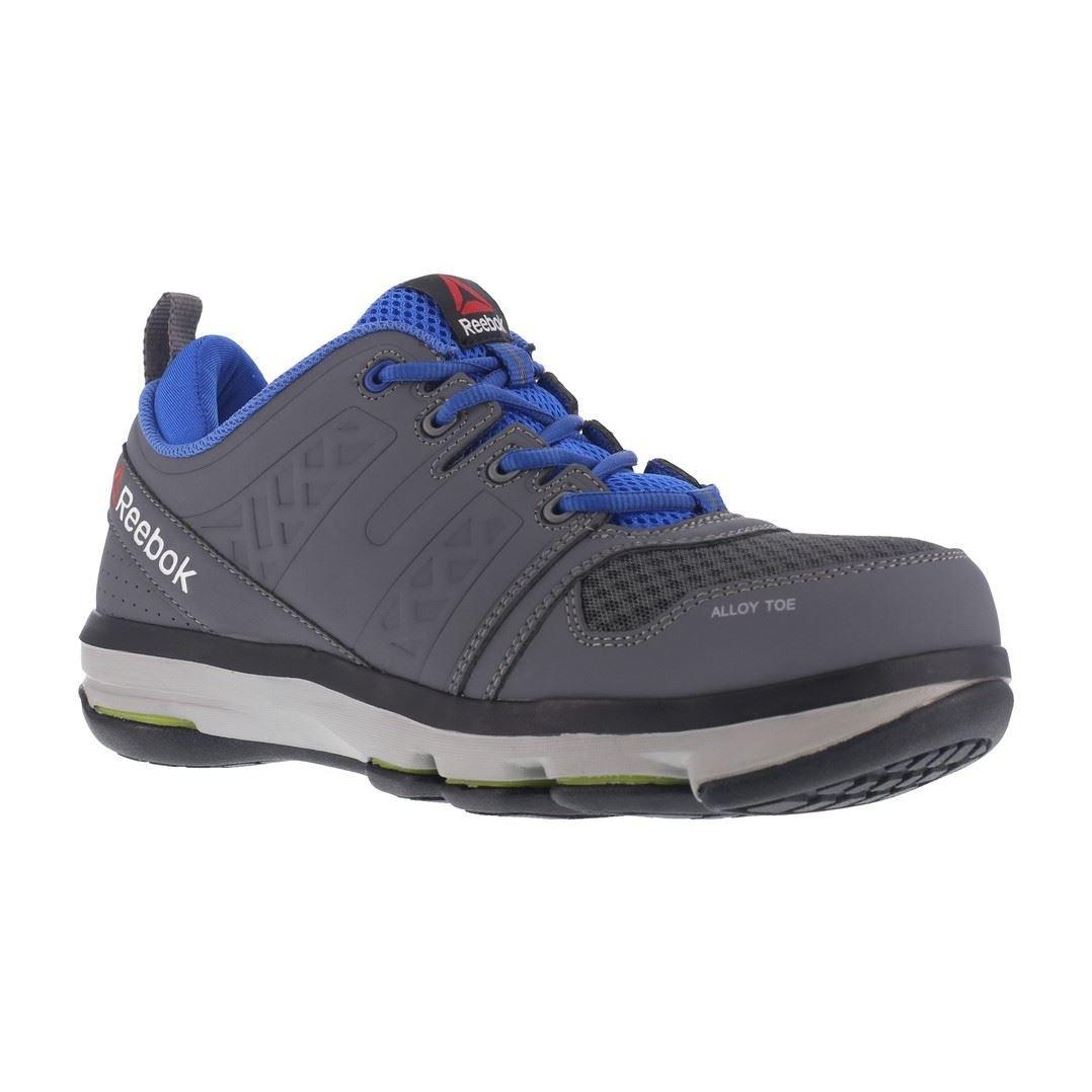 Reebok Work Men's Dmx Flex Work RB3604 Industrial and Construction Shoe, Grey, 12 M US