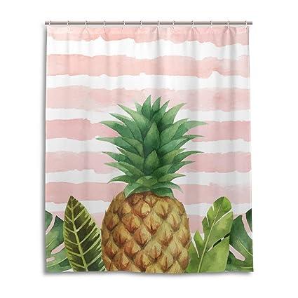 Fabric Bathroom Decor Special Custom Elk Mildrew Resistant Shower Curtain 60 x 72