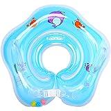 Eizur Baby Nuoto Anello Salvagente Regolabile per Bambini Supporto di Collo Bambini nuotano anello Baby galleggiante collare da bagno Baby Float Piscina Neonati