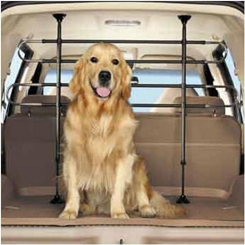 Fence Pet Dog Cages Car Black Vehicle Divider Barrier Seat Truck SUV US Stock