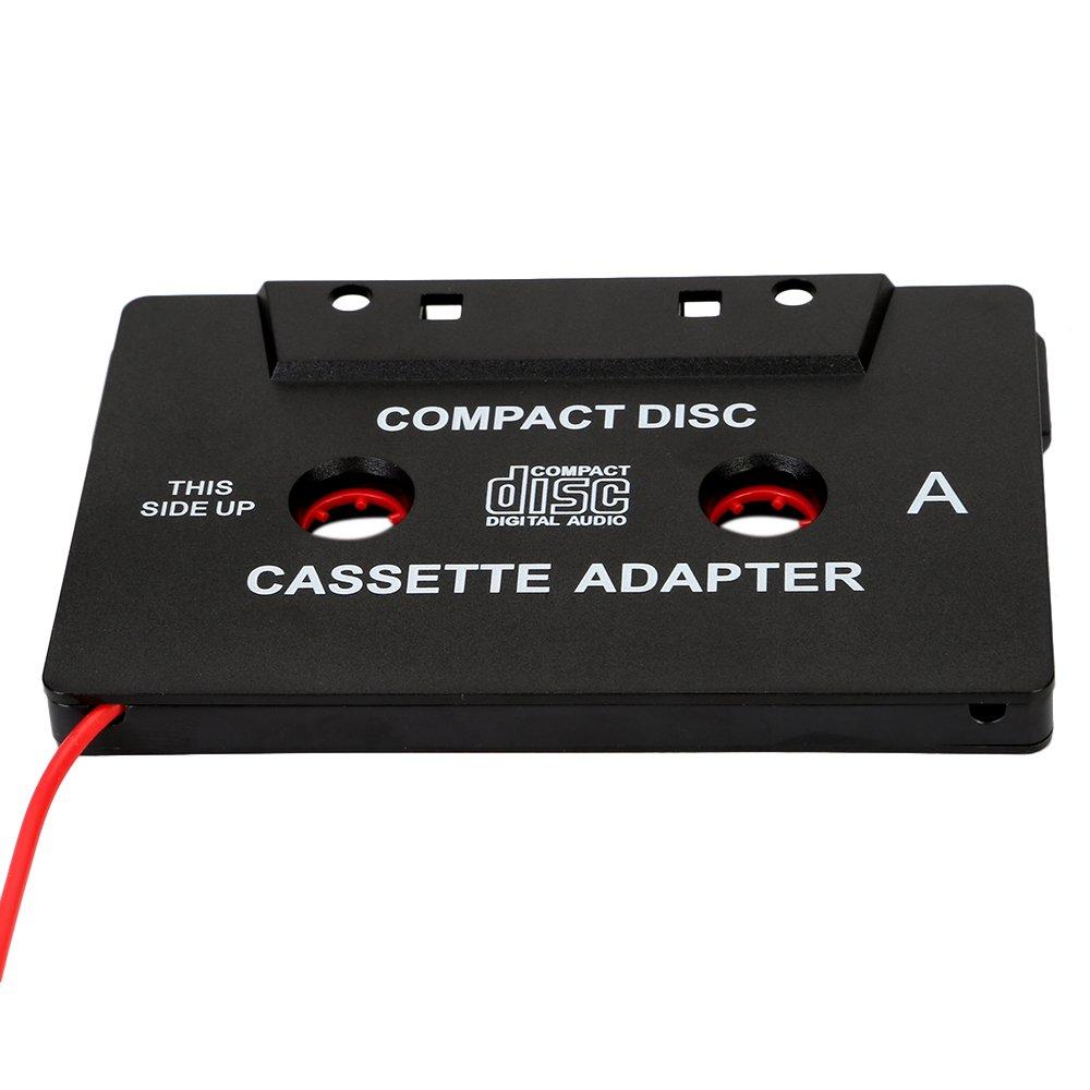 OSAN KFZ-Kassette-Adapter f/ür iPod MP3-Player 2,5 mm Stecker 3 m langes Kabel mit 3,5 mm KlinkenStecker und Adapter iPhone iPad Handy
