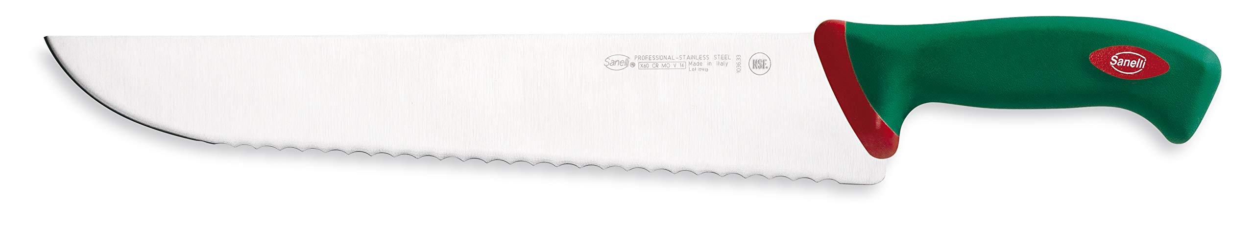 Sanelli SN-103633 Premana Professional Fish Knife, 13'', Silver/Green by Sanelli (Image #1)