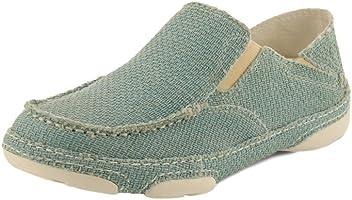 Tony Lama Casual Shoes Womens Oxford Moc Toe Ocean Blue RR3038L