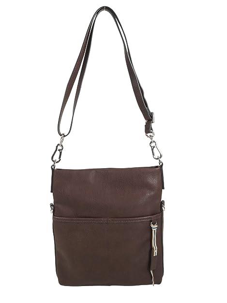 ESPRIT Damen Handtasche Tasche Schultertasche Kayla Flap