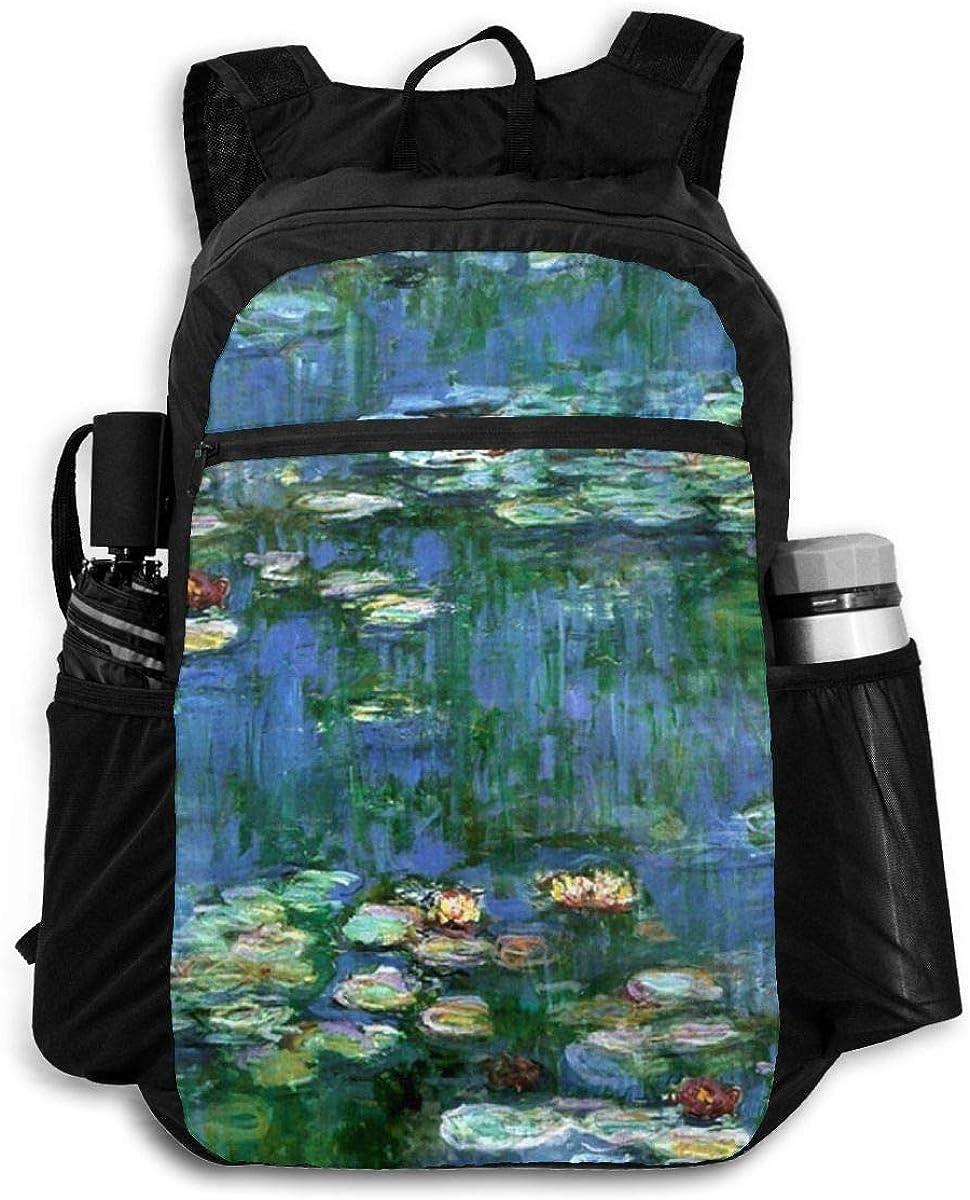 American USA Trump Flag Lightweight Foldable Backpack Travel Daypack Waterproof Laptop Packbag Camping Hiking Bag