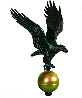 product image for Montague Metal Products Flagpole Eagle, 12-Inch, Black