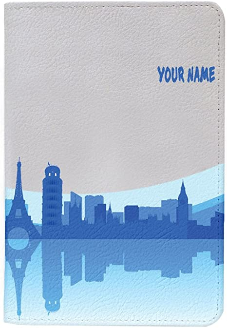 Travel City Leather Business Passport Holder Protector Cover/_SUPERTRAMPshop