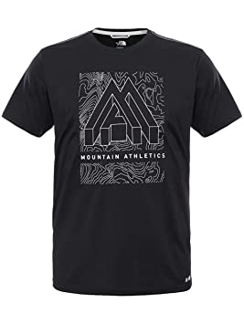 Face Para North Amp Reaxion Ma Graphic Camiseta Hombre Crew Eu TAxAPH