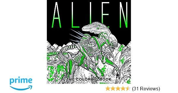 Amazon Alien The Coloring Book 9781785653766 Titan Books