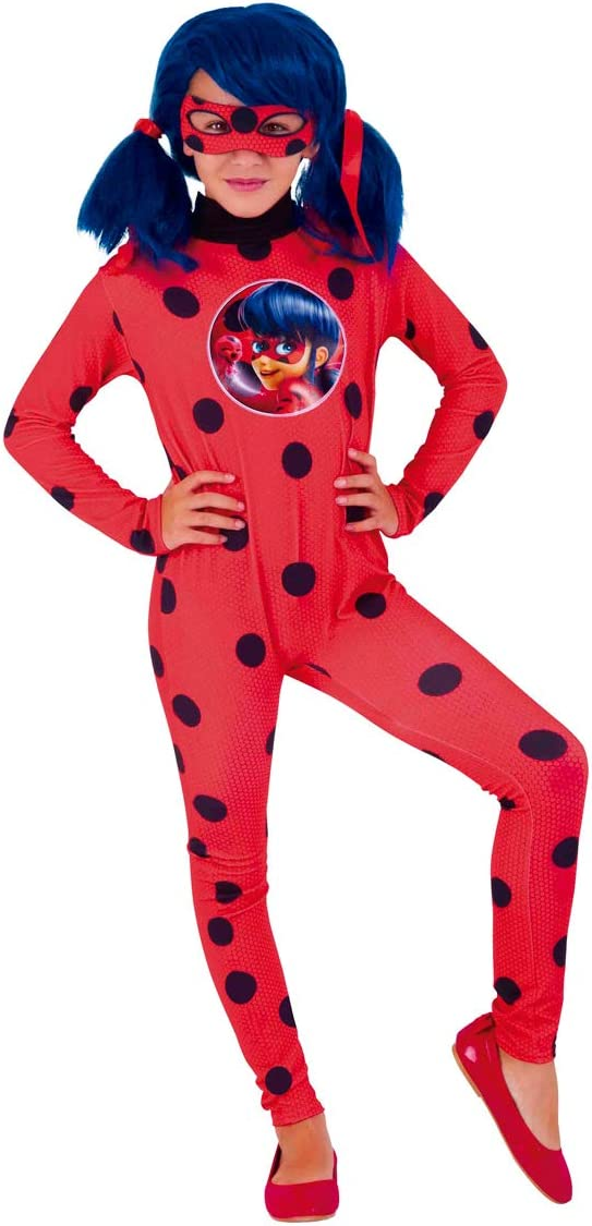 Rubies LadyBug Disfraz Miraculous Classic infantil, talla única ...