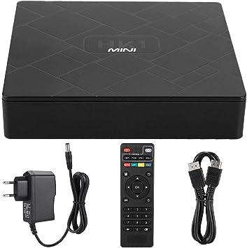 Liukouu Smart TV Box, RK3229 2GB 16GB para Android 8.1 Quad Core Smart TV Box con Control Remoto Smart TV Box para Android 8.1(YO): Amazon.es: Electrónica