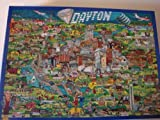 City of Dayton, Ohio Jigsaw Puzzle (Over 500 Pieces) by Buffalo Games