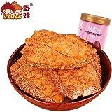 野娃手撕素肉豆干250g罐 辣条零食烤蛋白素肉零食小吃(五香味)