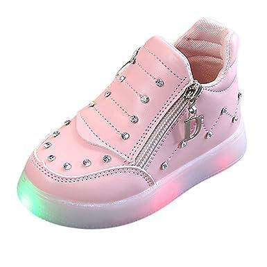 Zapatos De Bebé Niño Niña, Niños Bebés Infantil Crystal ...