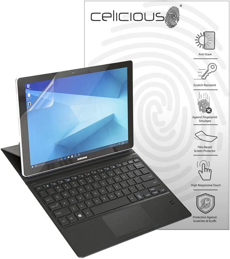 Celicious Privacy 2-Way Anti-Spy Filter Screen Protector Film Compatible with Samsung Galaxy Book 12
