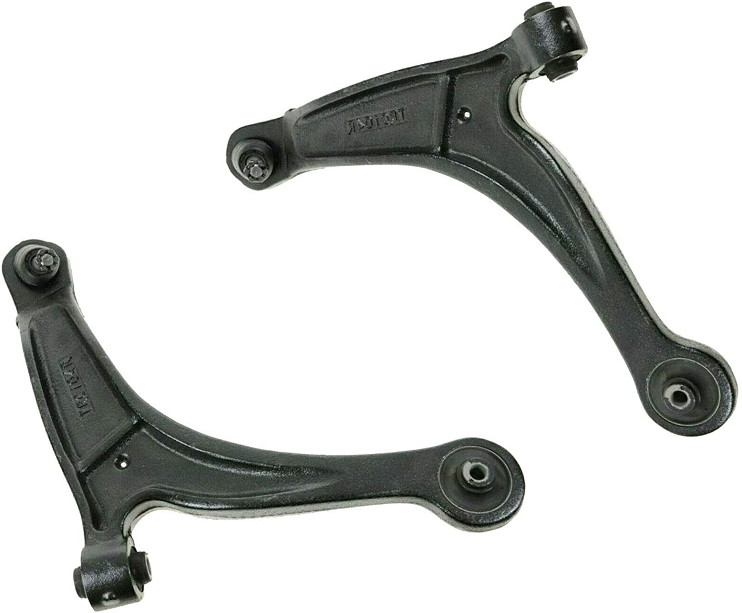 2 Front Driver /& Passenger Side Lower Control Arm w//Ball Joint for 2006 2007 2008-2014 Honda Ridgeline Detroit Axle Pair