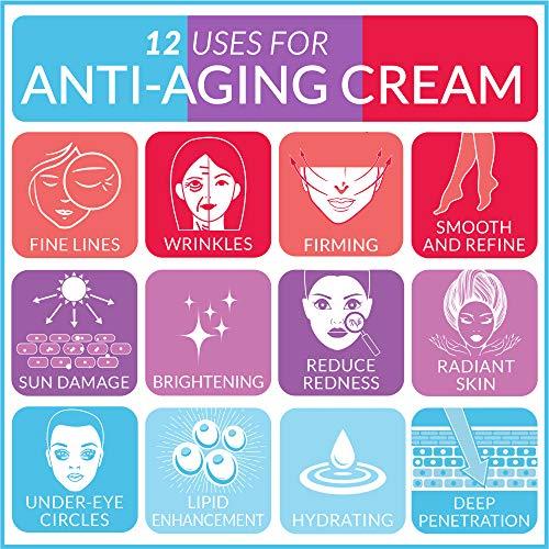 ArtNaturals Natural Eye Cream Gel - (1 Fl Oz / 30ml) - Ageless Looking Skin, Good For Dark Circles, Puffiness, Fine Lines - From Aloe, Hyaluronic Acid & Retinol - For Men & Women