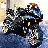 Same Day Shipment! Moto Onfire Aftermarket Matte Black AB...