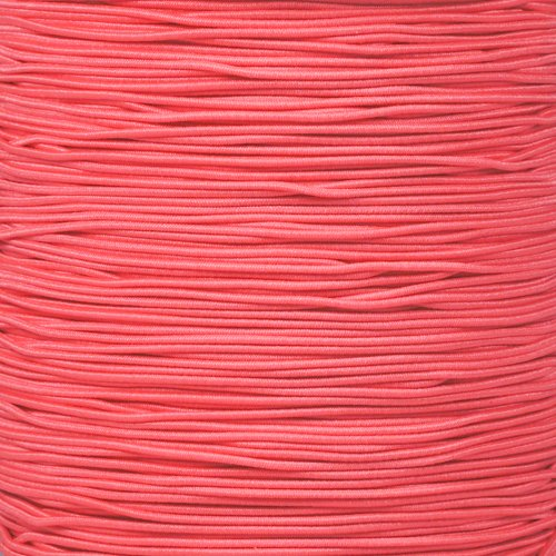 """/& 100 Feet Options Various Colors in 10 25 50 Paracord Planet 1//32/"""" Diameter Elastic Stretch Bungee Shock Cord"""