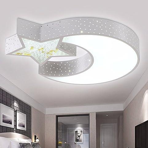 LED ceiling lamp moon stars children\'s lighting room lighting ideas ...