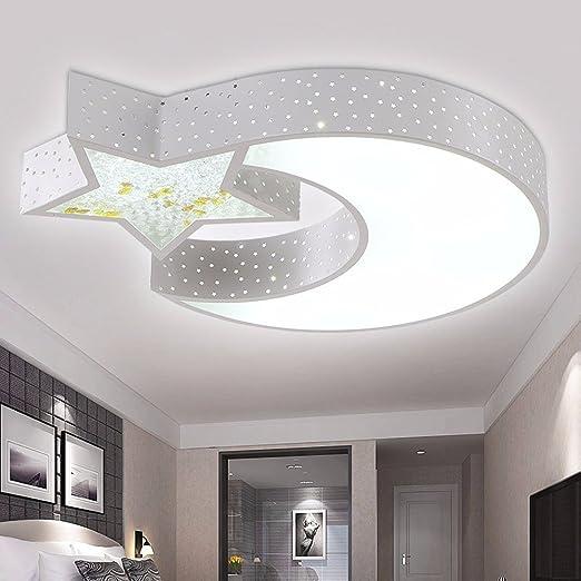 LED Ceiling lamp Moon Stars Children\'s Lighting Room ...