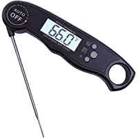AUSELECT Meat Thermometer Digital Food Cooking Thermometer for Kitchen, Super-Fast Read, Backlight and Calibration…