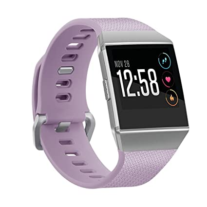 Amazon.com: Cywulin Compatible Fitbit Ionic Bands, Soft ...