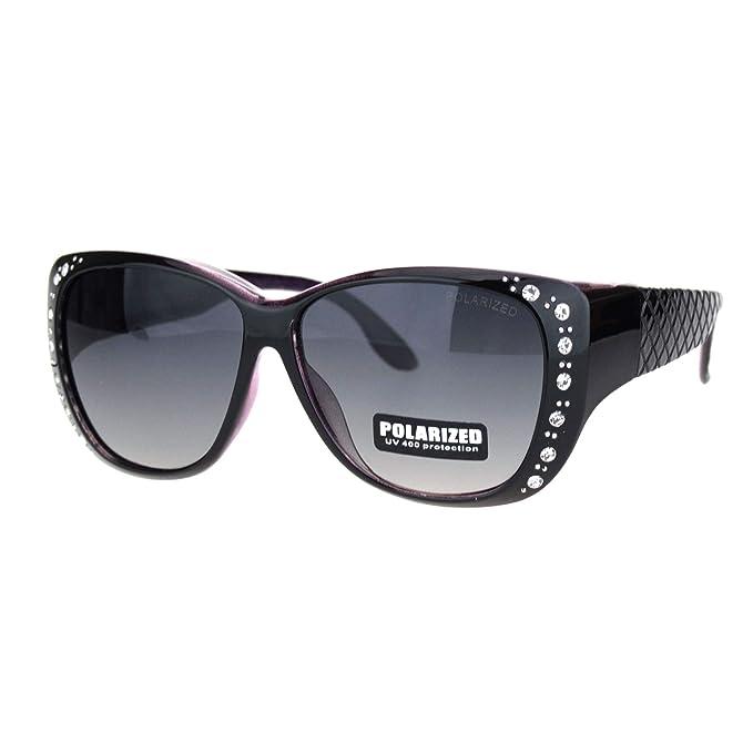 Amazon.com: SA106 - Gafas de sol polarizadas de 2.165 in con ...