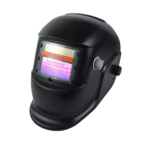 UKCOCO Casco de soldadura Herramienta de soldadura Soldadoras Máscaras de protección Oscurecimiento automático Máscara de soldadura