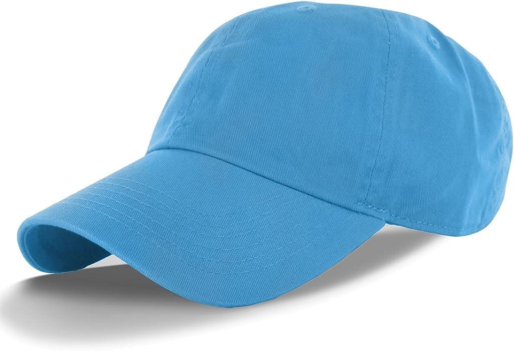 bb7e6d6f005 DealStock Plain 100% Cotton Hat Men Women Adjustable Baseball Cap (30+  Colors)