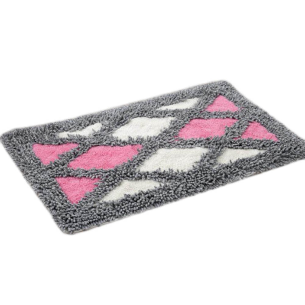 Home Decor Carpet Non-Slip Rug Doormat Bathroom Absorbent Footmat 45x70CM-A08