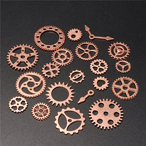 20pcs Vintage Steampunk Watch Clock Parts Gear Cogs Wheels Crafts Findings Lot from BephaMart
