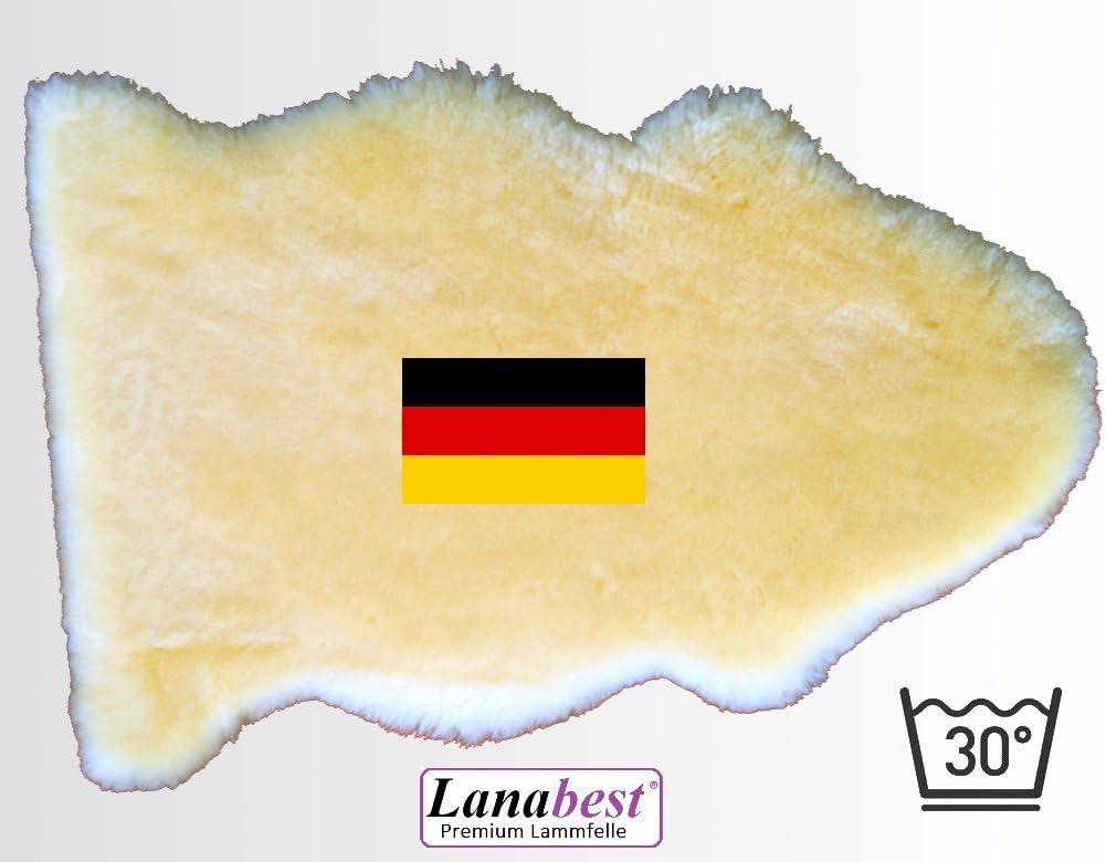 Manta de piel de cordero, para bebé, 80-90 cm, fabricado en Alemania Piel de cordero merino curtida médicamente de alta calidad: muy suave, acogedora e inodora. Se puede lavar a 30 ºC. Perfecta como p