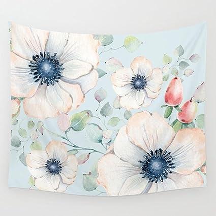 Toalla de flores decoración de la pared inicio de la moda toalla de playa / chal