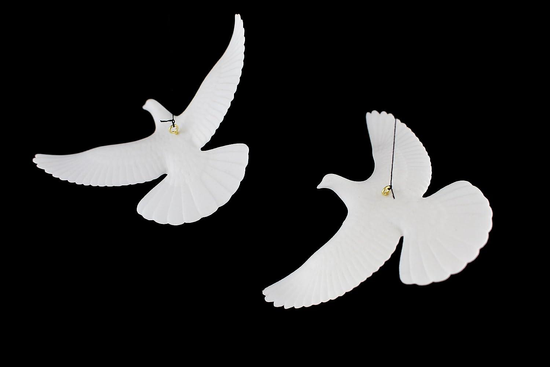 White dove christmas ornaments - Amazon Com Set Of 2 Turtle Dove Ornaments As Seen In Home Alone 2 Home Kitchen