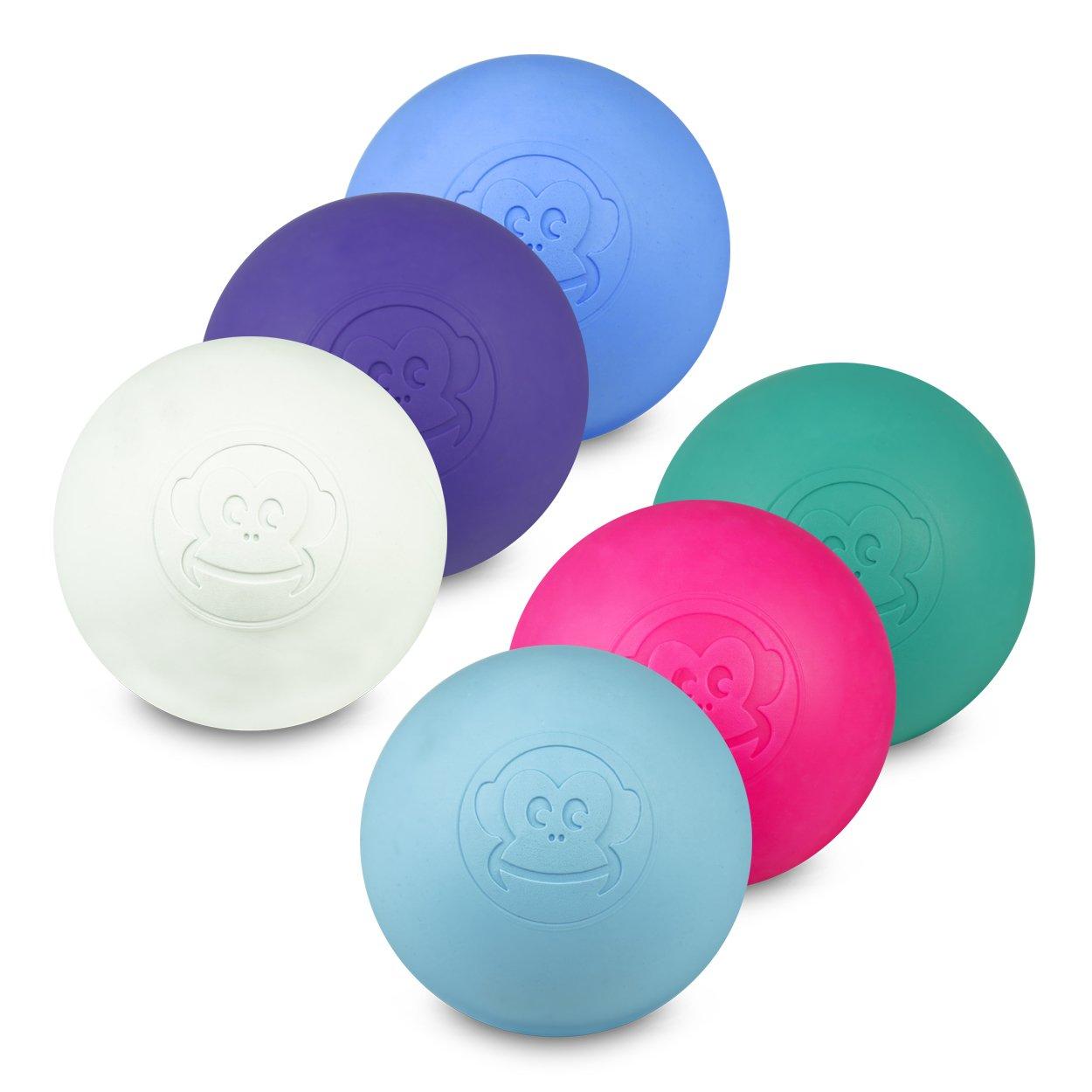 Captain LAX Lacrosse Kit de 6 pelotas en diferentes colores para ...
