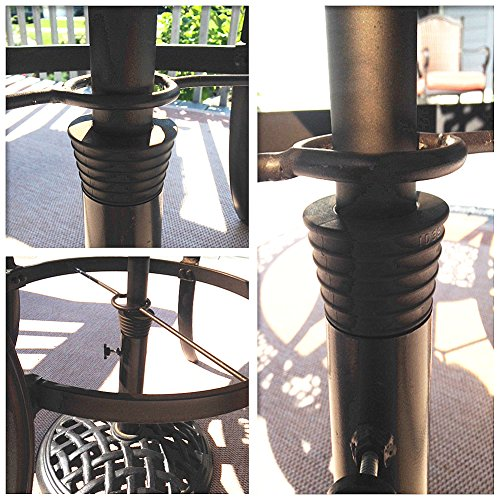 Myard Umbrella Cone Wedge Fits Patio Table Hole Opening Or